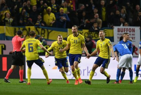 Sweden - Italy 1-0
