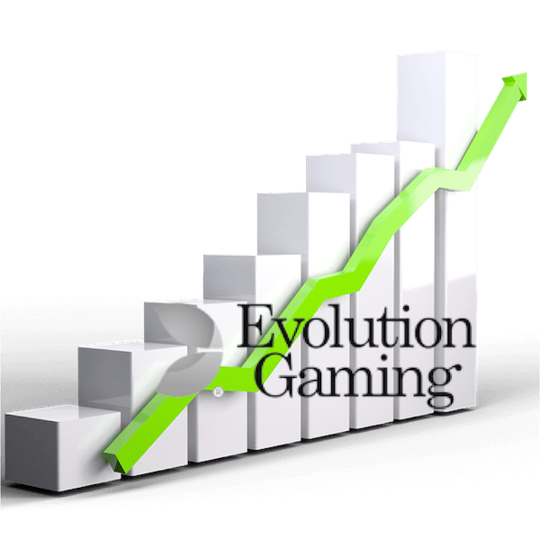 evolution gaming ανοδος