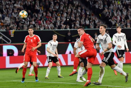 Germany - Serbia 1-1